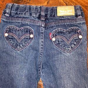 24 month vintage Levi's heart pockets boot cut